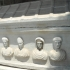 Sarcophagus with four busts image