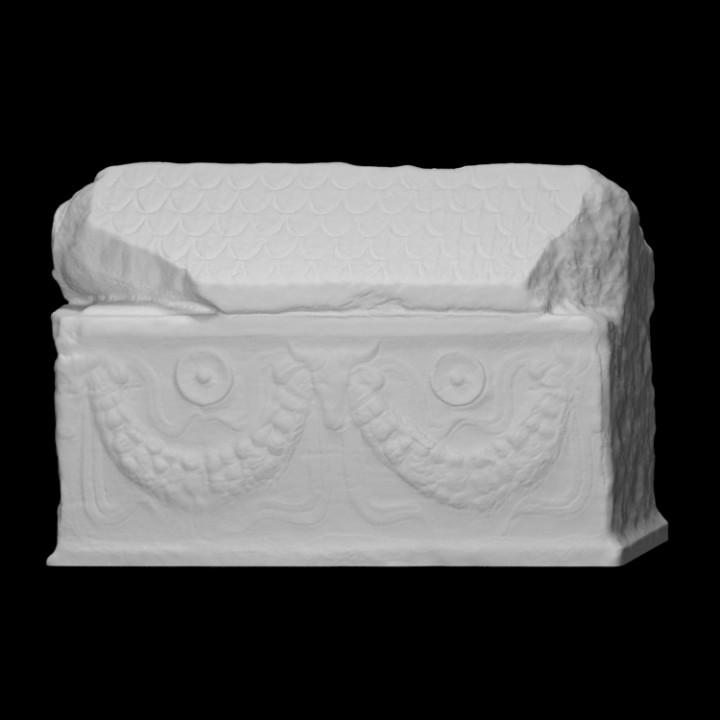 Sarcophagus of a child