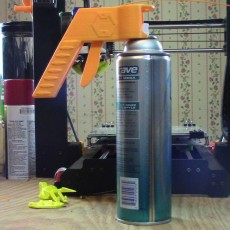Spray can handle/trigger