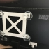 Monitor mount for window image