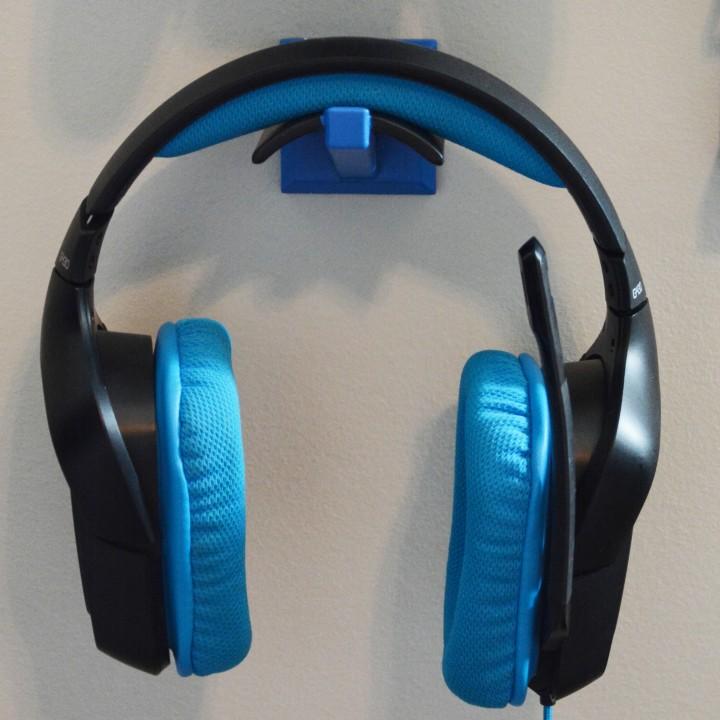 Wall Mounted Headphone Hanger