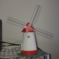 Picture of print of Windmill