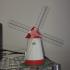 Windmill print image
