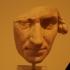 Portrait head of man image