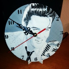 Reloj de pared Elvis Presley