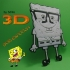 DIBUJO 3D       BOB ESPONJA image