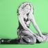SHAKIRA Dibujo 3D image