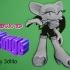 Dibujo 3D Rouge  (sonic) image