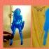 lithophane wonder woman image