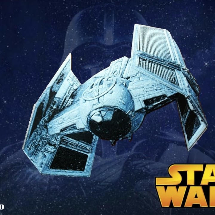 3d Printable Nave De Combate Star Wars Dibujo 3d By Raul