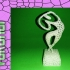 Estatuilla voronoi image
