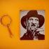 Freddy Krueger keychain image