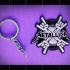 metaliica keychain image