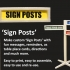 Sign Posts image