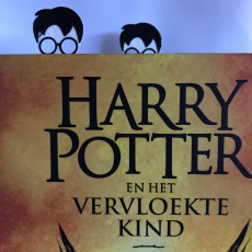 Picture of print of Harry Potter Bookmark ⚡