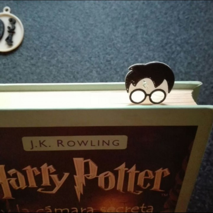 photograph about Harry Potter Printable Bookmarks named 3D Printable Harry Potter Bookmark âš¡ through SPrinting