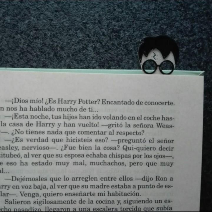 Harry Potter Bookmark ⚡