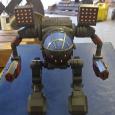 Picture of print of Ball Joint Mad Cat Mech
