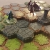 Locking Hex Terrain Stone Path image