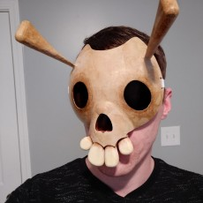 Picture of print of The Legend of Zelda Skull Mask