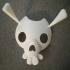 The Legend of Zelda Skull Mask print image