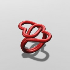 Twisted Hearts Ring