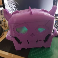 Picture of print of zelda breath of the wild skull chest