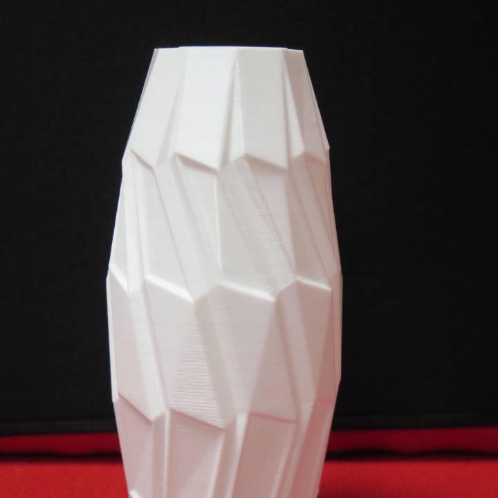 Polybevel Vase