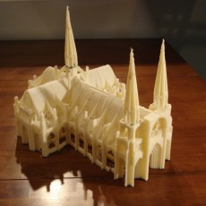 Gothic Cathedral Play Set
