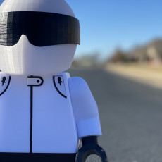 Picture of print of The STIG