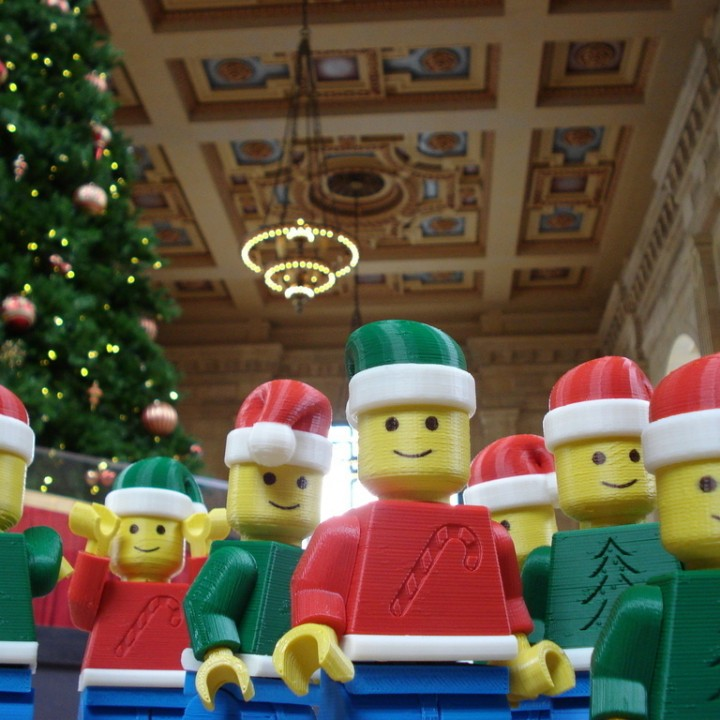Christmas Lego Men of Kansas City