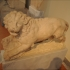 Lion from a funerary monument image