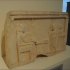 Votive relief in the shape of a temple image