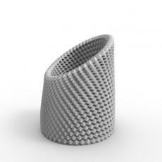High Profile Rotary Vase