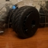 Ken Block's Gymkhana Fifteen 52 Turbomac 1/10 RC car wheel image