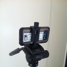 Universal Smartphone Bracket for camera stand