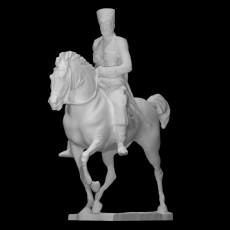 Tsar riding a horse