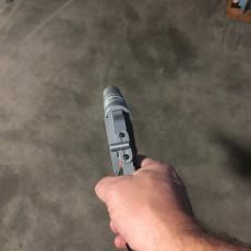 Picture of print of Rey's NN-14 Blaster Pistol