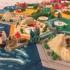 catan-style boardgame 2.0 (magnetic & multicolor) print image