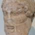 Head of mature Dionysus image