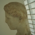 Head of a goddess image