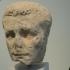 Portrait head of the emperor Caligula image