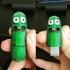 Pickle Rick USB print image