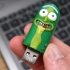 Pickle Rick USB image