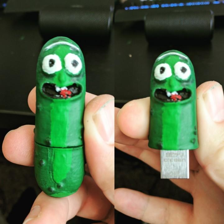 Pickle Rick USB