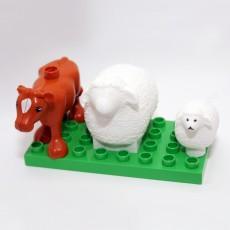 Wooly Sheep Duplo mini & MAXI