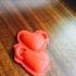Printable Heart Key Chain. image