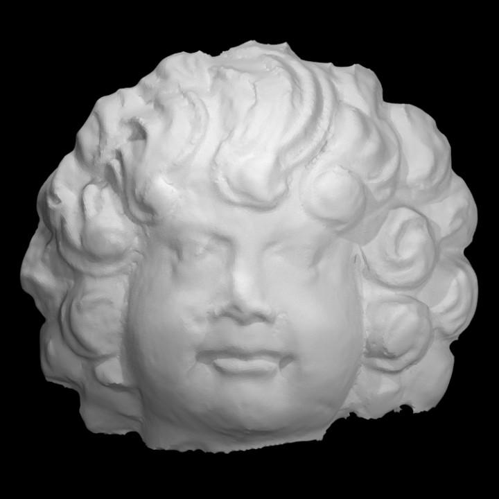 Figurine Head, Front