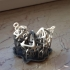 Skeleton Diamond Necklace image