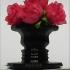 Optical Illusion Vase. Rubin's Vase. Negative space image. image